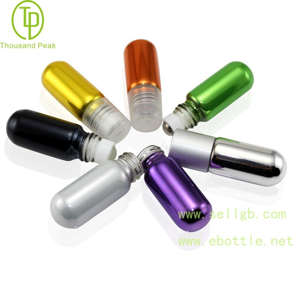 TP-3-26 2ml-4ml 金属电镀玻璃滚珠瓶 可以装香水 beplay体育下载网址等
