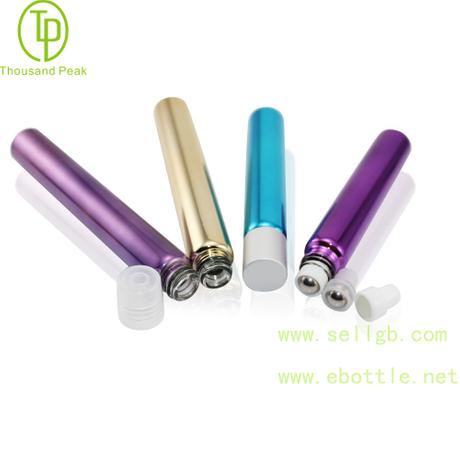 TP-3-32 10ml 金属电镀玻璃滚珠瓶 可以装香水 beplay体育下载网址等