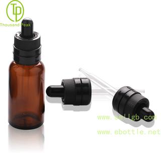 TP-2-73 茶色精油瓶加强儿童安全防盗玻璃滴管